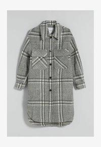 Bershka - Classic coat - grey - 3