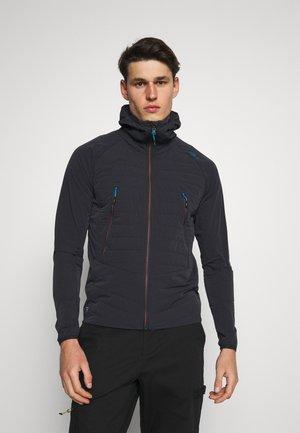 MAN FIX HOOD JACKET - Outdoor jacket - antracite