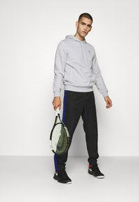 Lacoste Sport - CLASSIC HOODIE - Hoodie - silver chine/elephant grey - 1