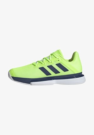 SOLEMATCH BOUNCE HARD COURT SHOES - Clay court tennis shoes - green