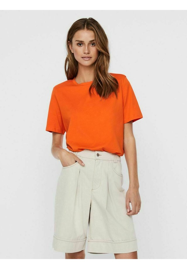 T-shirt basic - mandarin orange