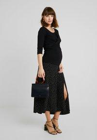 Esprit Maternity - NURSING - Topper langermet - black - 1