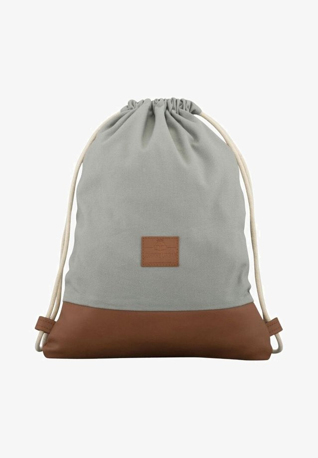 TURNBEUTEL LUKE - Sports bag - gray/brown