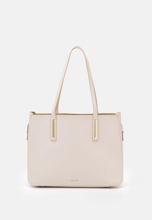 SET - Bolso shopping - off-white