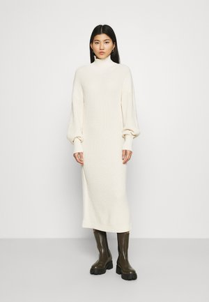 SCARLETT DRESS - Jumper dress - egg white