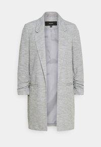 VMRICA LONG - Short coat - medium grey melange