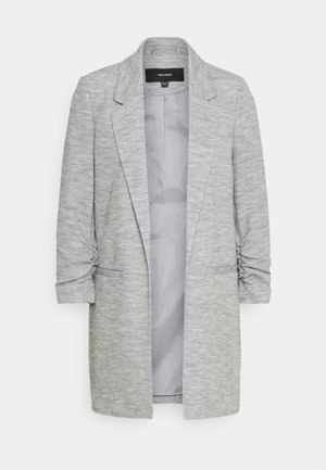 VMRICA LONG - Short coat - medium grey melange