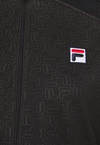 Fila - JACKET LEONIE - Training jacket - black - 2
