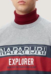 Napapijri - BOVES - Sweatshirts - med grey mel - 3