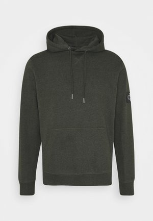 MONOGRAM BADGE GRINDLE HOODIE - Hoodie - deep depths