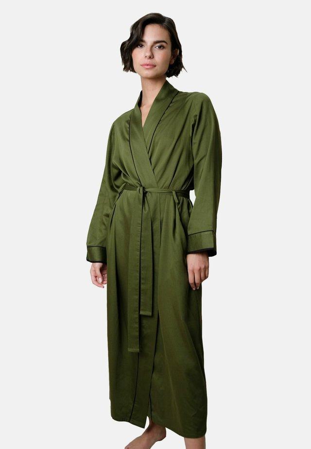 Peignoir - military green
