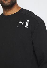 Puma - CREW - Sweatshirt - black - 5