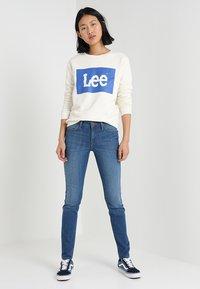 Lee - SCARLETT - Jeansy Skinny Fit - stone blue denim - 1