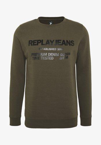 Sweatshirt - military