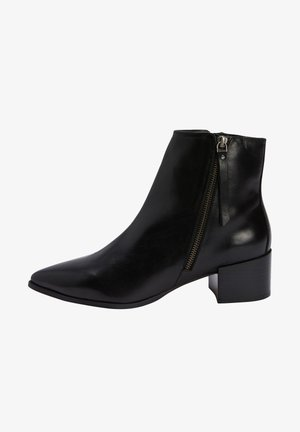 POINT ZIP CHELSEA - Ankle boots - black