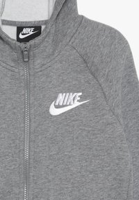 Nike Sportswear - FULL ZIP - Felpa aperta - carbon heather/white - 4