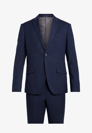 CHECKED SUIT - Garnitur - blue