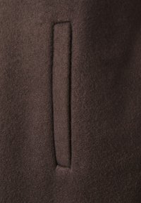 Vero Moda Petite - VMBRUSHEDKATRINE JACKET - Manteau court - chocolate plum - 7