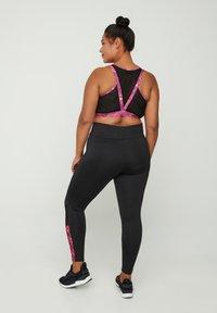 Zizzi - Leggings - Trousers - pink - 1