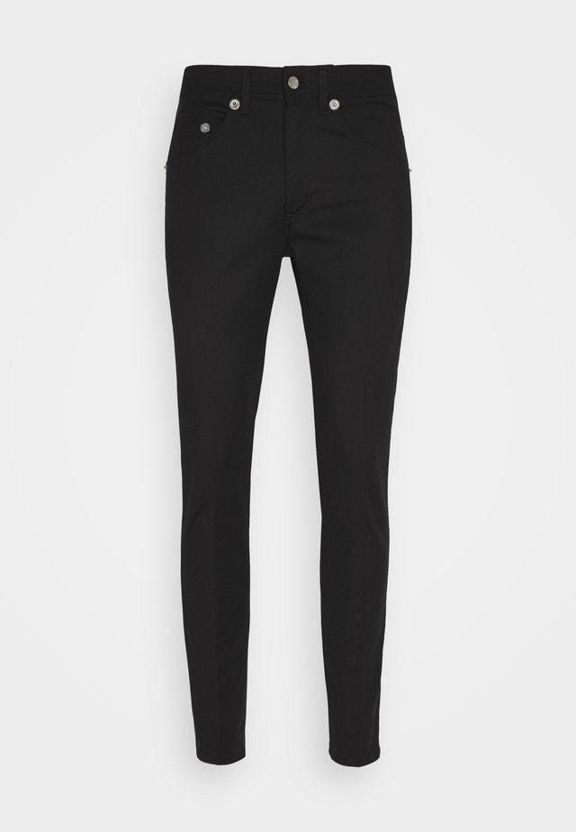 SUPER REGULAR RISE  - Jeans Skinny Fit - black