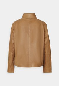DRYKORN - BARBICAN - Leather jacket - braun - 1