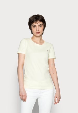 COOL SOLID ROUND - T-shirt basic - frosted lemon