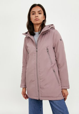 Winter jacket - grey-pink