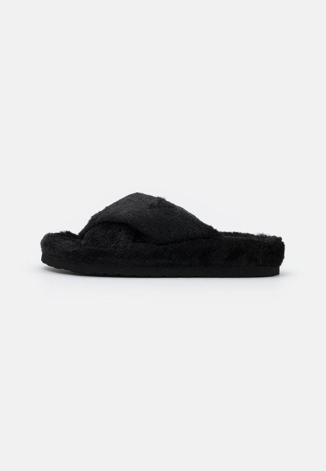 FUZED - Pantoffels - black