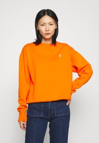 Polo Ralph Lauren - LONG SLEEVE - Bluza - fiesta orange - 0