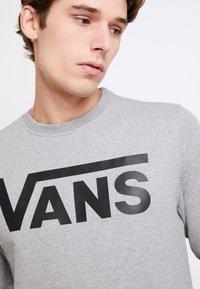 Vans - CLASSIC CREW - Sweatshirt - cement heather-black - 5