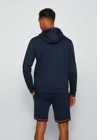 BOSS - SAGGY  - Sweater met rits - dark blue - 2