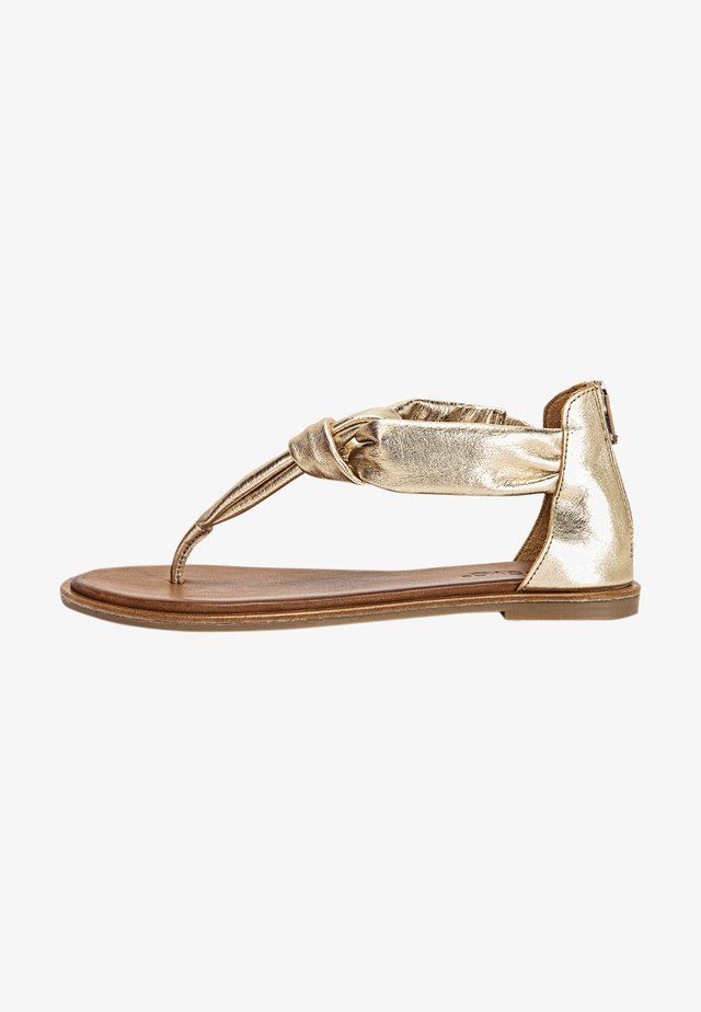 Sandales - gold gld