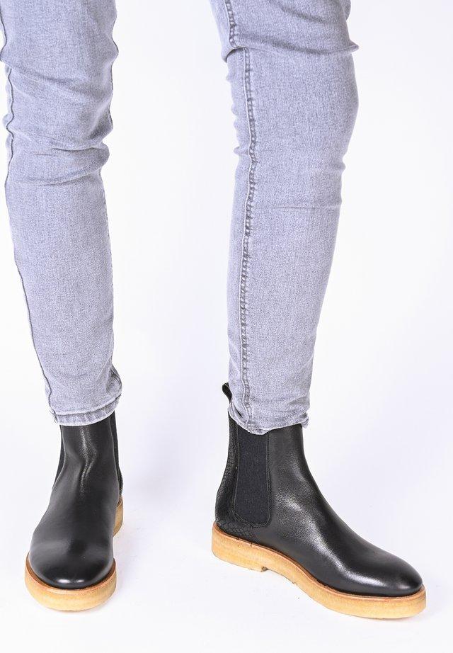 JOHANNA SNAKE - Ankle boots - schwarz