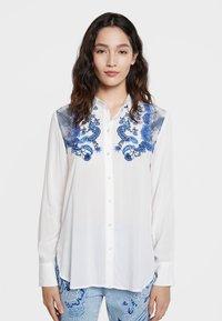 Desigual - BARCINO - Button-down blouse - white - 0