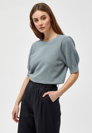 JOSSA  - Basic T-shirt - misty blue