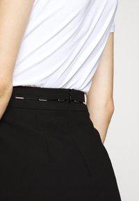 HUGO - RICARI - Pouzdrová sukně - black - 4