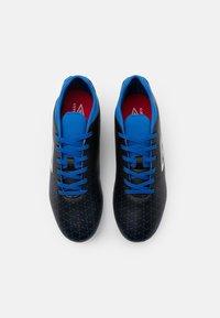 Umbro - VELOCITA V CLUB FG - Moulded stud football boots - black/white/victoria blue - 3