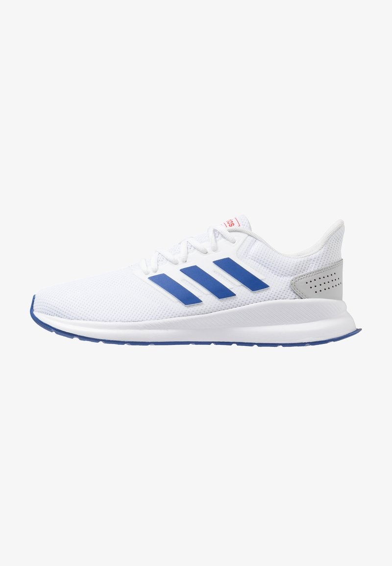 adidas Performance - RUNFALCON - Neutral running shoes - footwear white/royal/active red