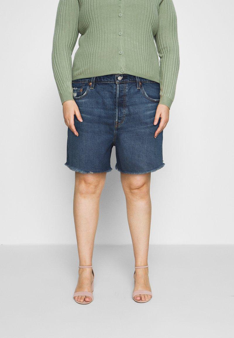 Levi's® Plus - 501 ORIGINAL SHORT - Denim shorts - charleston outlasted