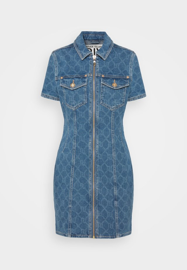 Denim dress - denim mid