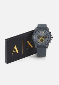 Armani Exchange - SET - Hodinky se stopkami - gray - 4