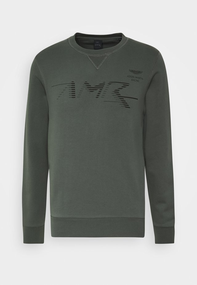 LOGO CREW - Sweatshirts - racing green