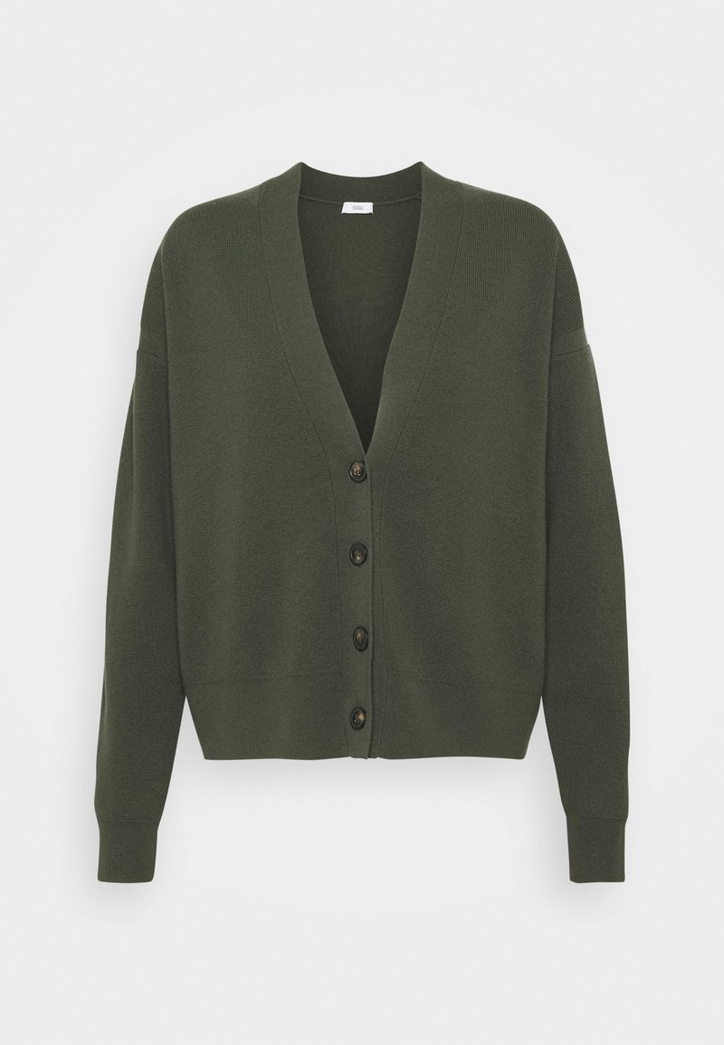 CLOSED - WOMENS BUTTON UP CARDIGAN - Cardigan - thyme
