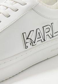 KARL LAGERFELD - KUPSOLE TRACER LOGO - Zapatillas - white - 5
