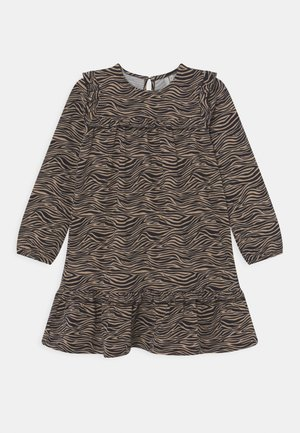 LPMULIA DRESS - Jerseyjurk - brown