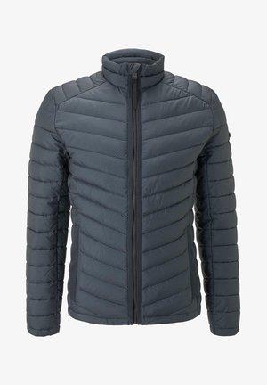 Winter jacket - blue stroke design