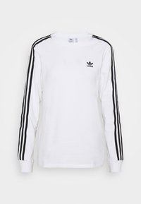 adidas Originals - Long sleeved top - white/black - 5