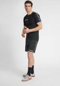 Hummel - HMLAUTHENTIC  - Korte sportsbukser - black/white - 1