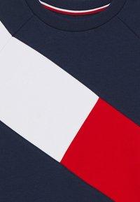 Tommy Hilfiger - FLAG BLOCKING DRESS - Denní šaty - blue - 2