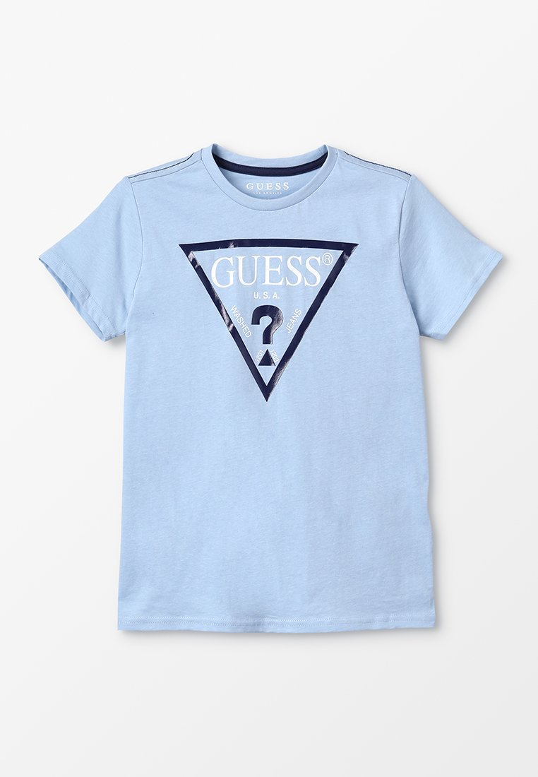 Guess - CORE JUNIOR  - T-shirt z nadrukiem - frosted blue